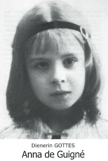 "Bildchen ""Anna de Guigné"""