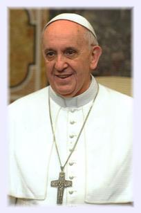 """Gebetsbildchen """"Papst Franziskus"""""""